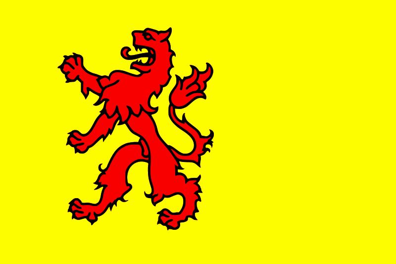 flag zuid-holland