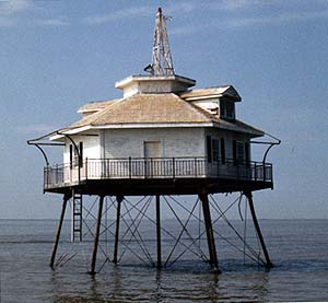 US-AL Middle Bay lighthouse