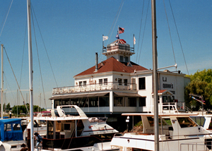 US-CA Old Oakland Harbor lighthouse