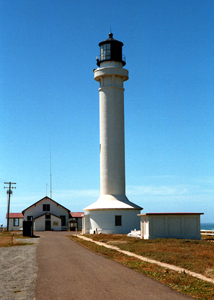 US-CA Point Arena lighthouse