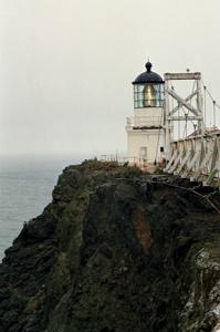 US-CA Point Bonita lighthouse