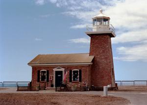 US-CA Santa Cruz Abbott Memorial light
