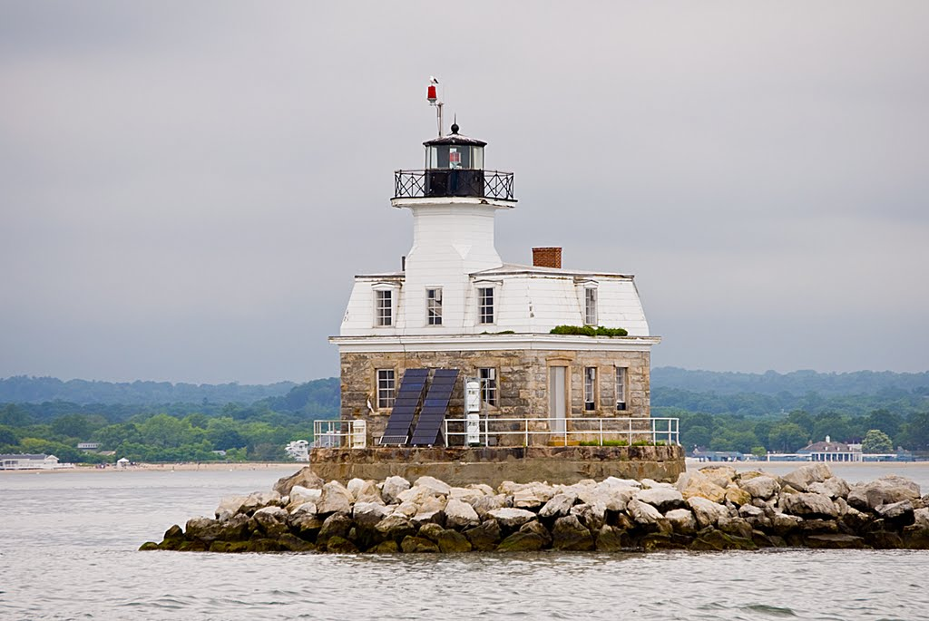 US-CT Penfield Reef lighthouse