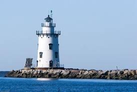 US-CT Saybrook Breakwater lighthouse