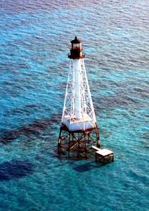 US-FL Alligator Reef lighthouse