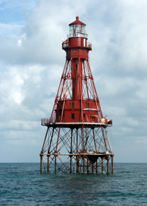 US-FL American Shoals lighthouse