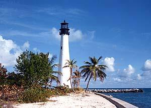 US-FL Cape Florida lighthouse after restoration