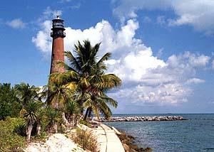 US-FL Cape Florida lighthouse before restoration