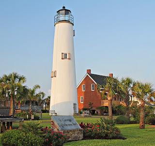 US-FL Cape St. George lighthouse