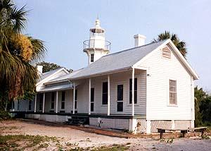 US-FL Cedar keys lighthouse or Seahorse Key