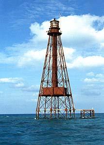 US-FL Sombrero Key lighthouse