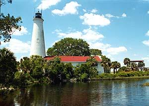 US-FL St. Marks lighthouse