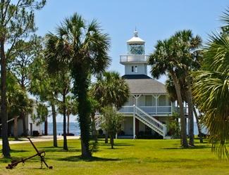 US-FL St.Joseph Point lighthouse
