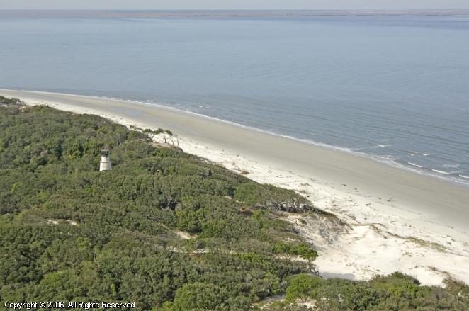 US-GA Little Cumberland Island lighthouse