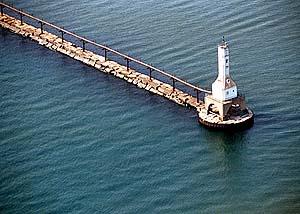 US-IN Indiana East Breakwater