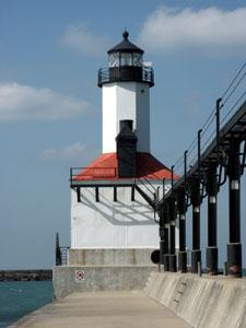US-IN Michigan-City East Pierhead