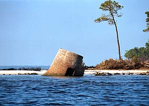 US-MS Round Island after hurricane Georges