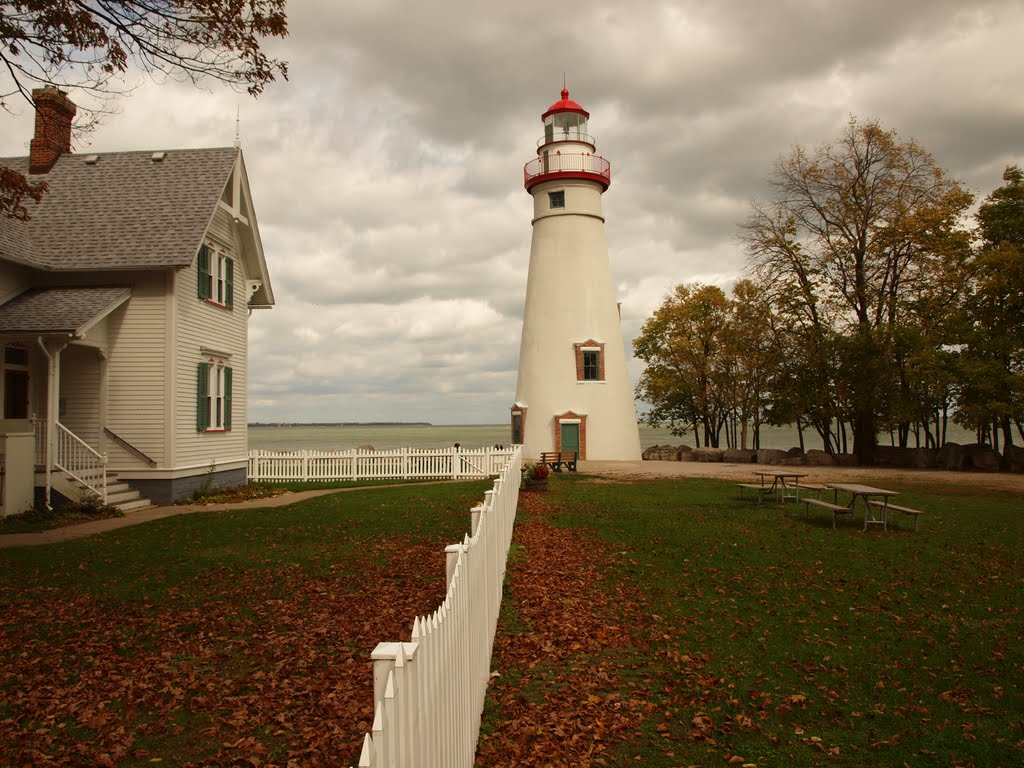 US-OH Marblehead lighthouse