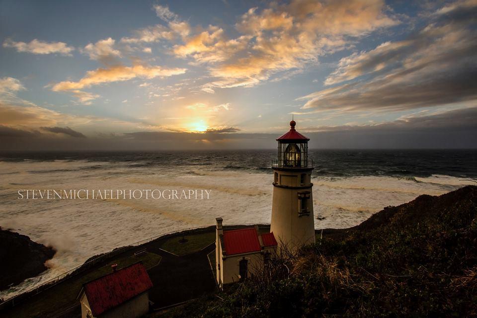 US-OR Heceta Head lighthouse
