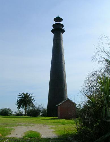 US-TX Point Bolivar lighthouse