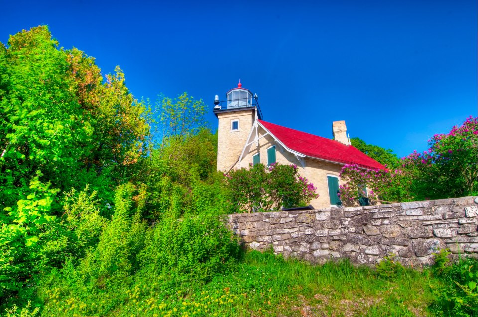 US-WI Eagle Bluff lighthouse