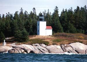 US-ME Deer Island Thorofare Mark Island