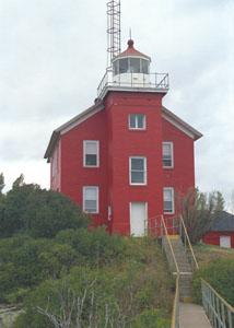US-MI Marquette Harbor