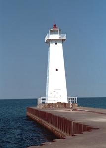 US-NY Sodus Point Breakwater