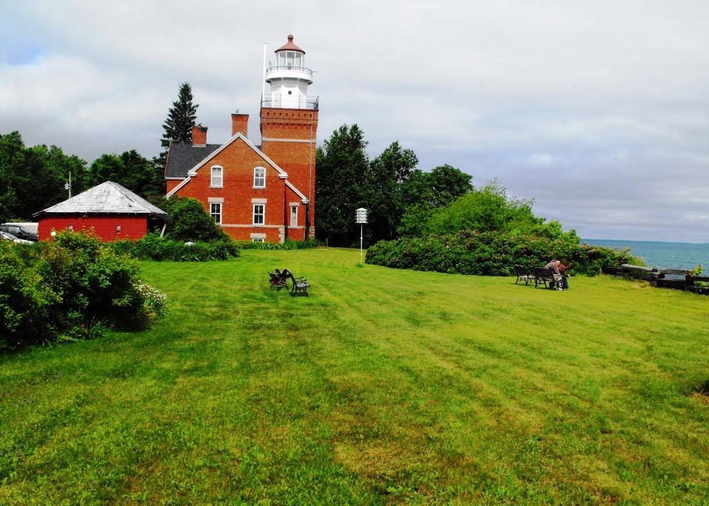 US-MI Big Bay Point Lighthouse