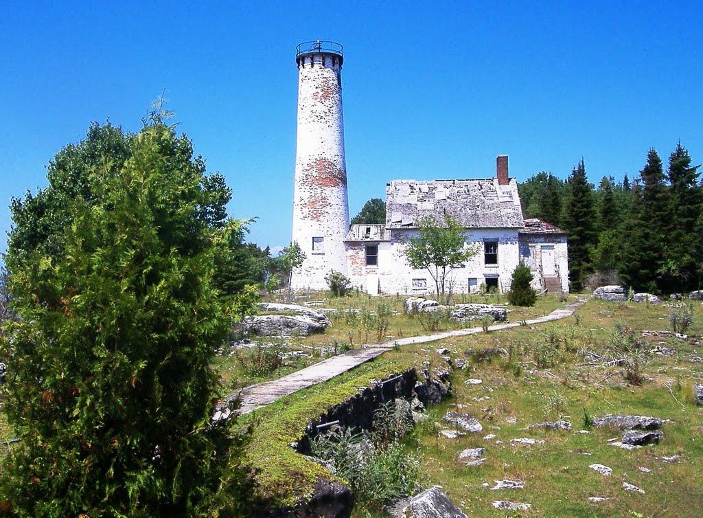 US-MI Poverty Island Lighthouse