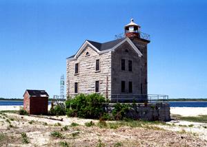 US-NY Cedar Island lighthouse