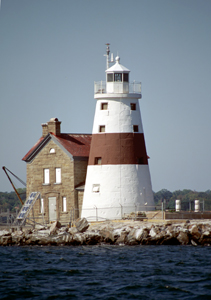 US-NY Execution Rock lighthouse