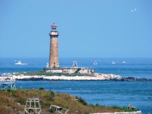 US-NY Little Gull Island lighthouse
