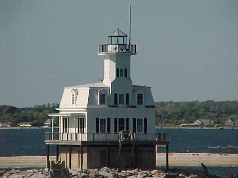 US-NY Long Beach Bar lighthouse