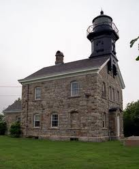 US-NY Old Field Point lighthouse