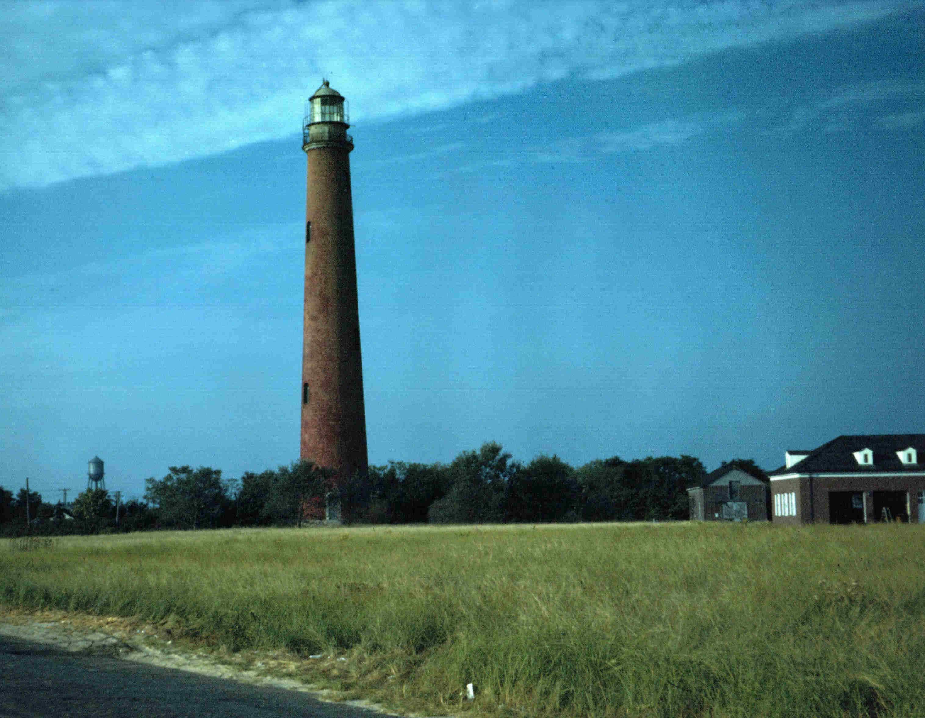 US-NY Shinnecock Bay lighthouse